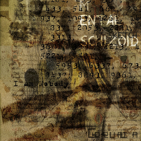 Go-qualia『Mental Sketch Schizoid-I』ジャケット