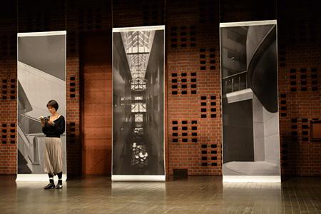 『平行する交差展:Performative Architecture』イメージビジュアル