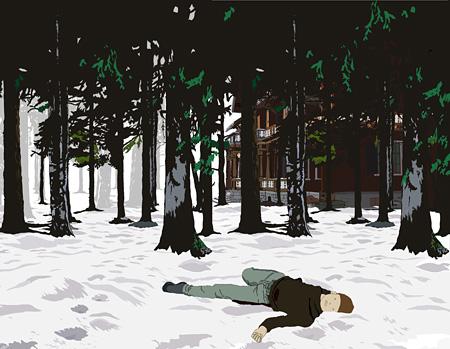 ビセンテ・ブランコ『無題(雪景色シリーズ)』2002年 MUSAC蔵 ©Vicente Blanco, Courtesy: MUSAC
