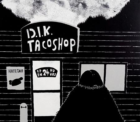 Ly個展『D.I.K. TACO SHOP』イメージビジュアル
