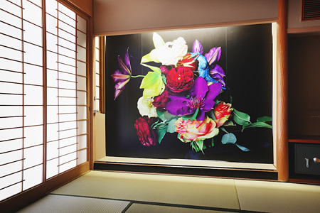 荒木経惟が手掛けたホテル古湧園 ©NOBUYOSHI ARAKI/Dogo Onsenart 2014 & HOTEL HORIZONTAL, All Rights Reserved