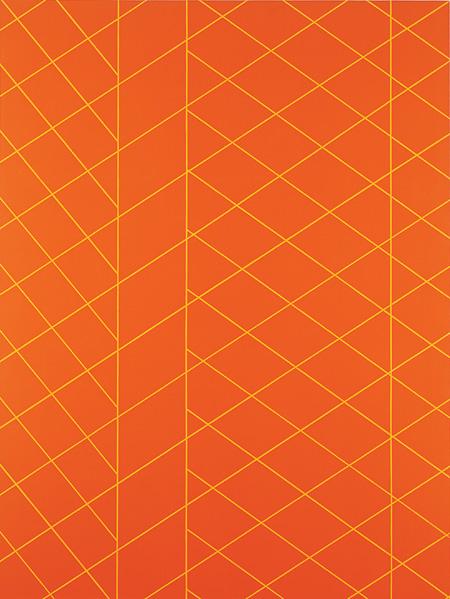『オレンジ・プレート』1986年 油彩/綿布240×180cm 国立国際美術館蔵