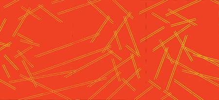 『破庵29(奥聖)』1997年 油彩、アクリリック/綿布 260.2×570cm いわき市立美術館蔵