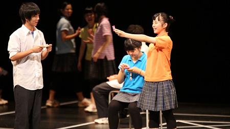 いわき総合高校演劇部『あひる月13』 ©大倉英輝