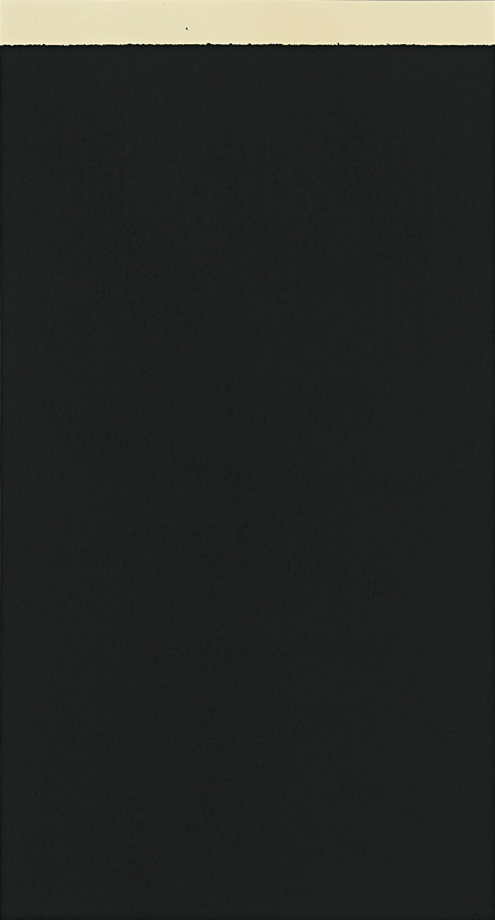 Richard Serra, Weight V, 2010 etching, 195x105cm, edition of 22©2013 Richard Serra and Gemini G.E.L. LLC, Courtesy of YAMAMOTO GENDAI