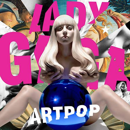 Lady GaGa『ARTPOP』ジャケット