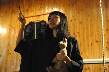 川上未映子×マームとジプシー『まえのひ』公演より 撮影:橋本倫史