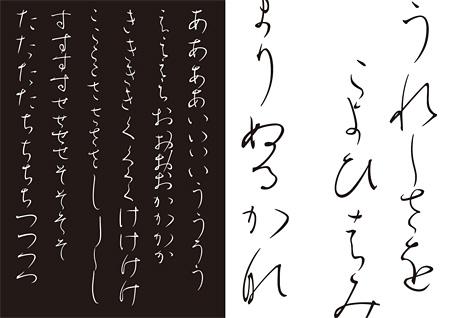 『TDC賞』タイプデザイン賞 宇野由希子と文字つくり部(山田和寛) こうぜい タイプデザイン作品(Type Design 部門)