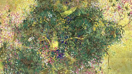 『時に咲く花』, チームラボ, 2014, デジタルワーク