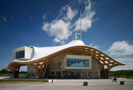 Centre Pompidou-Metz,  2010, France, Photo by Didier Boy de la Tour,  courtesy of Shigeru Ban Architects