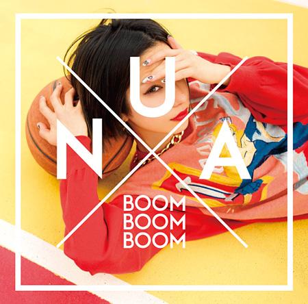 Una『BOOM BOOM BOOM』ジャケット