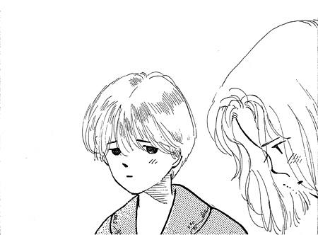 漫画『ホットロード』イメージビジュアル ©紡木たく/集英社文庫<コミック版>