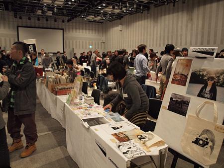 『THE PHOTO/BOOKS HUB, TOKYO』2012年度の会場風景