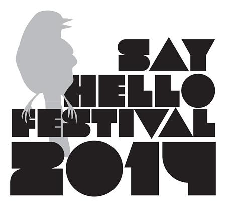 『SAY HELLO FESTIVAL 2014』ロゴ