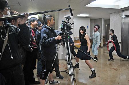 『Z~ゼット~』撮影風景 ©2014 相原コージ/日本文芸社・エスピーオー