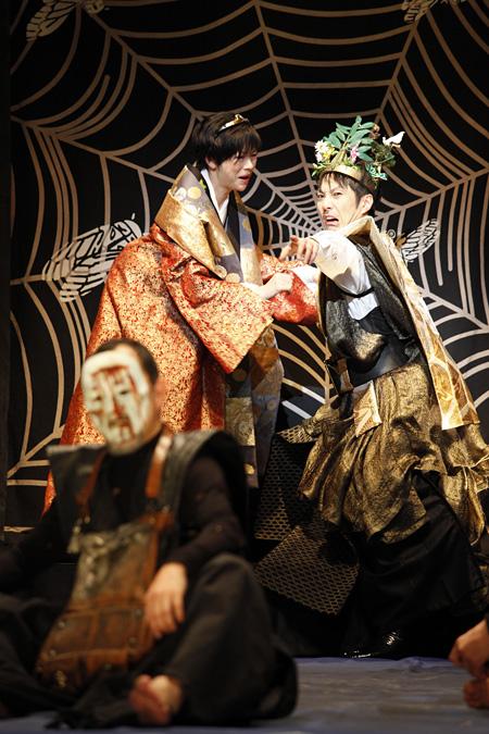 『マクベス』2013年舞台より 撮影:石川純