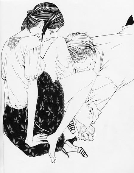 『娚の一生』原作イラスト ©西炯子/小学館フラワーコミックスα
