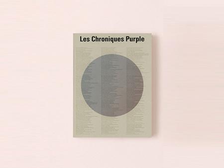 『Les Chroniques Purple』表紙