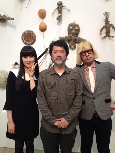 浜崎容子、松永天馬(アーバンギャルド)と会田誠
