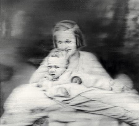 ゲルハルト・リヒター『叔母マリアンヌ』 1965年 ヤゲオ財団蔵 ©Gerhard Richter, 2014