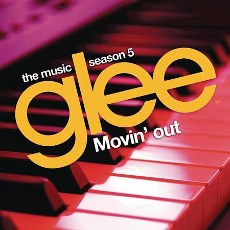 『ムーヴィン・アウト:グリー sings ビリー・ジョエル』ジャケット