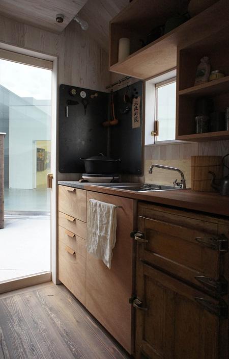 『Hanem Hut』キッチン