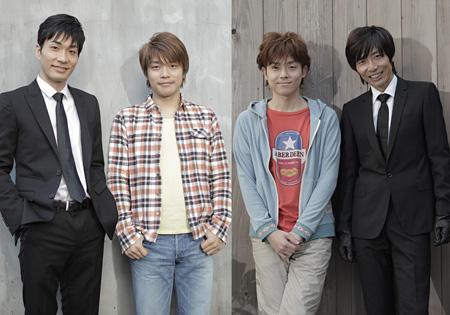 左から阿部丈二、畑中智行、多田直人、岡田達也