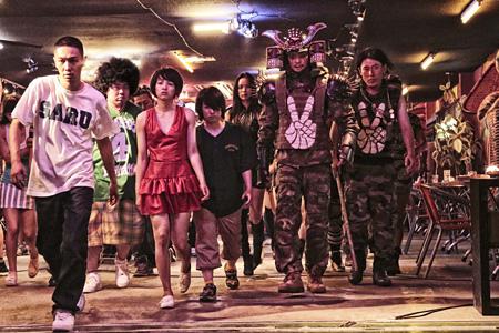 映画『TOKYO TRIBE』より ©2014INOUE SANTA/TOKYO TRIBE FILM PARTNERS