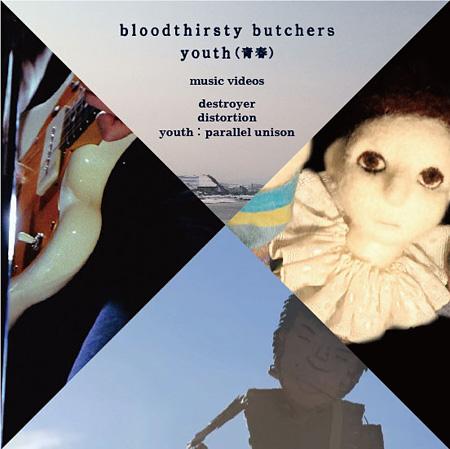 bloodthirsty butchers『youth(青春)MV3部作DVD』ジャケットパターン1