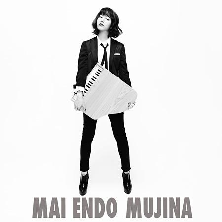 遠藤舞『MUJINA』(CD+フォトブック)ジャケット