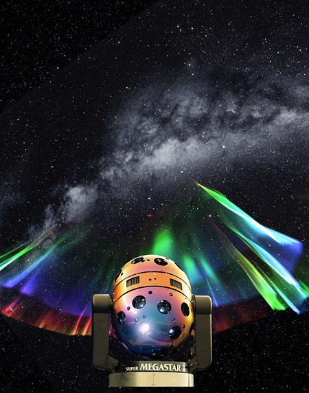 大平貴之『SUPER MEGASTAR-Ⅱとオーロラ』2008年(参考図版)
