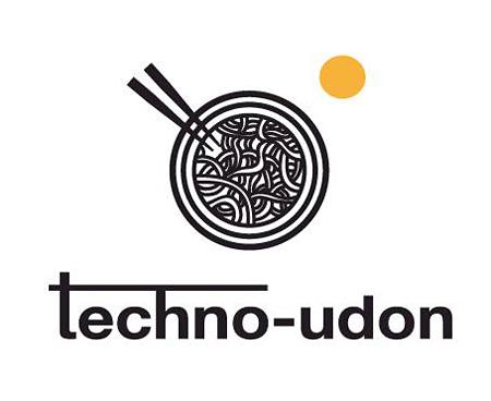『第4回 テクノうどん』ロゴ