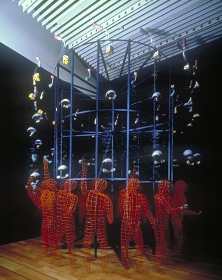 グレゴリー・バーサミアン『ジャグラー』1997年 撮影:大高隆