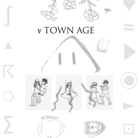 相対性理論『ν TOWN AGE』ジャケット