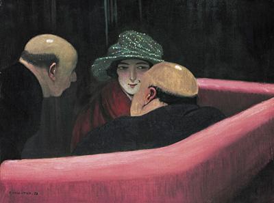 フェリックス・ヴァロットン『貞節なシュザンヌ』1922年 油彩/カンヴァス ローザンヌ州立美術館 Photo: J.-C. Ducret, Musée cantonal des Beaux-Arts, Lausanne