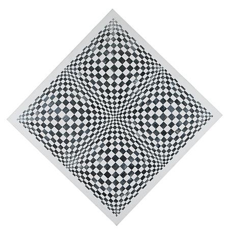 ダダマイーノ『ダイナミックな視覚のオブジェ』 1962年 アクリル・アルミニウム薄板・板