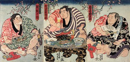 歌川国貞『英雄見立三国志』