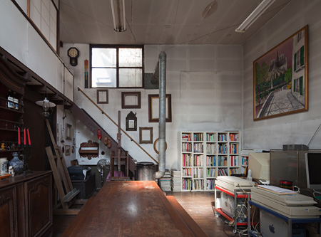 磯崎新『新宿ホワイトハウス』 1957年 撮影:新建築社写真部
