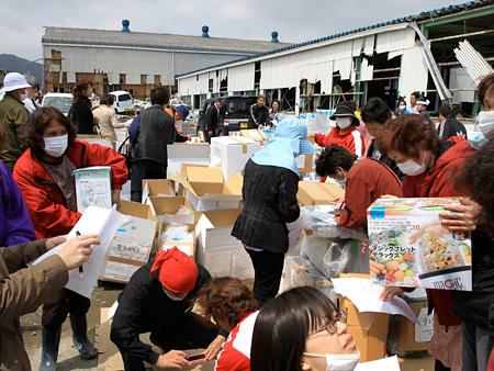 「ふんばろう東日本支援プロジェクト」 credit: Project Fumbaro Eastern Japan