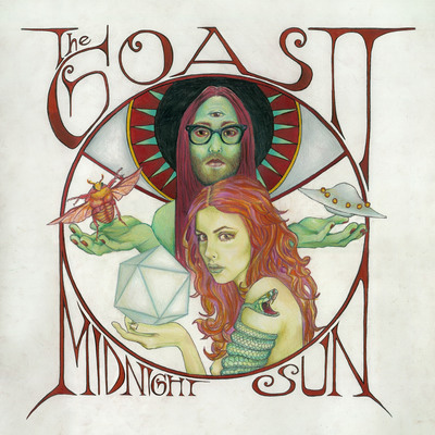 THE GHOST OF A SABER TOOTH TIGER『MIDNIGHT SUN(DELUXE EDITION)』ジャケット