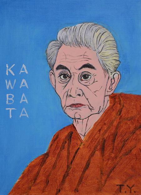 横尾忠則『川端康成』 2007年 作家蔵