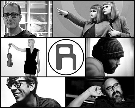 The Rentals Lost in Alphaville Creative Crew (Clockwise / L to R) Matt Sharp, Jess Wolfe, Holly Laessig, Ryen Slegr, D. Sardy, Patrick Carney and Lauren Chipman
