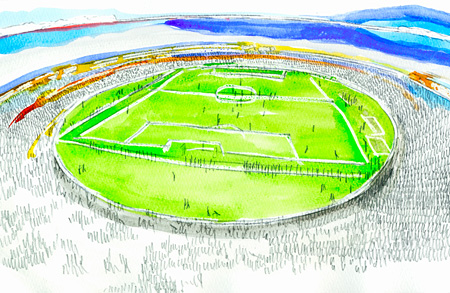 都市とスタジアム『新しいスタジアム』イメージビジュアル