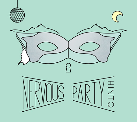 HINTO『NERVOUS PARTY』ジャケット
