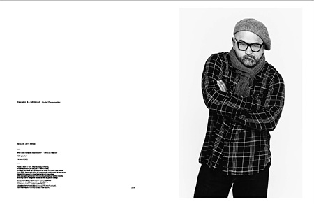 『THE TOKYO HUNDREDS 原宿の肖像 Directed by NEIGHBORHOOD 20th ANNIVERSARY ISSUE』より熊谷隆志