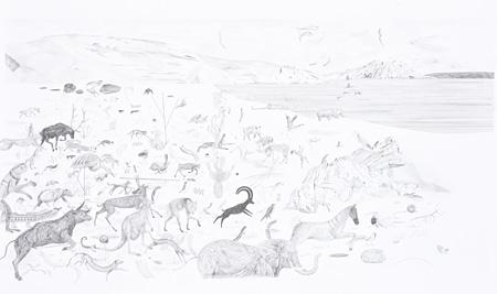 エヴェリーネ・ラオベ、ニーナ・ヴェーアレ『大洪水』の原画 スイス グランプリ ©Evelyne Laube, Nina Wehrle