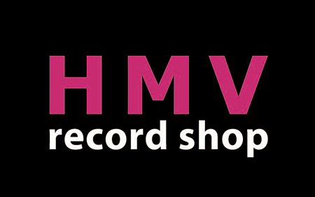 HMV record shop 渋谷 ロゴ