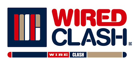 『WIRED CLASH』ロゴ