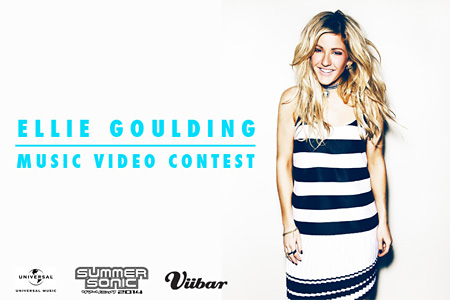 『ELLIE GOULDING MUSIC VIDEO CONTEST』メインビジュアル
