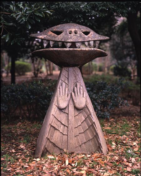 岡本太郎『ノン』 1970年 F.R.P. 川崎市岡本太郎美術館蔵